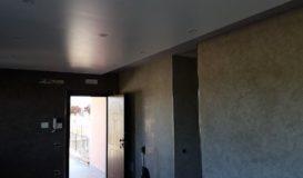 spatolato pareti e soffitto lucido con smalto all'acqua_risultato